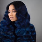 Gorgeous blue ombre by @dommiecole
