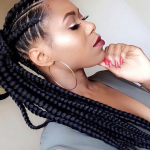 Cute braided pony via @narahairbraiding