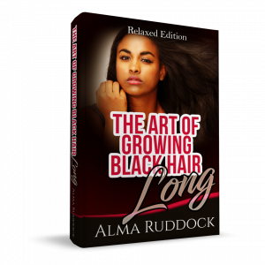 The Art Of Growing Black Hair Long – Relaxed Edition 3d cover
