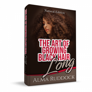 The Art Of Growing Black Hair Long – Natural Edition 3d cover