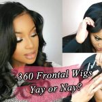 Can't Sew??? Check 360 Frontal Wigs!!! Easy Apply Wigs [Video]