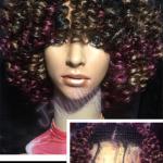 Lace Front Synthetic Crochet Wig  fb:jnuwigs  http://jnuwigs.com/