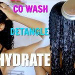 Easy Co Wash Routine For Hydrated + Moisturized Healthy Natural Hair