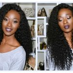 How To Make A Curly Wig With A Lace Closure: Malaysian Curly From Bele Hair [Video]