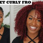 HOW TO | NATURAL RED KNOTLESS CROCHET BRAIDS