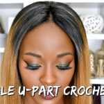"Invisible U-part : No Added Hair ""Crochet"" Method : $40 Ombre Wig [Video]"