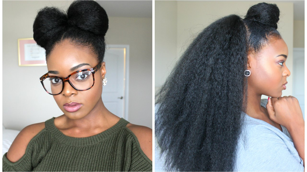 Braided Updo Styles For Natural Hair: NATURAL HAIRSTYLES WITH BRAIDING HAIR [Video]