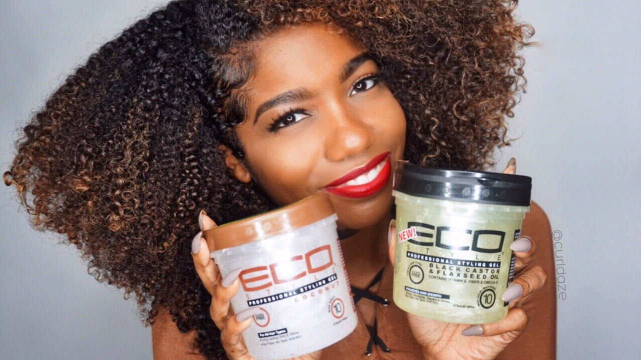 coconut for styling hair part 1 all about eco styler black castor amp flaxseed 1214