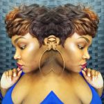 Versatile Short Wig w/Lace Closure at the crown/ no 27 pieces/sewn on machine  @jnuwigs