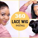 HOW TO LAY A 360 LACE FRONTAL WIG : GLUELESS LACE WIG INSTALL USING GOT2BE ULTRA GLUED [Video]