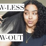 Blow-LESS Blowout for Curly/Natural Hair?! [Video]