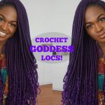 CROCHET PURPLE GODDESS LOCS | Quick Tutorial [Video]