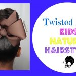 Quick and Easy Twisted Bun | Kids Natural Hairstyle  [Video]