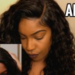 How To Customize Lace Closure (NO BLEACHING) NO HAIR LEFT OUT [Video]