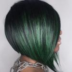Lovely green bob @nomehayes