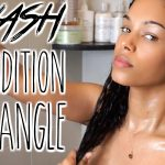 [Basic Weekly Routine] Wash, Condition, & Detangle Curly Hair [Video]