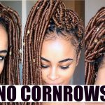 Blonde CROCHET FAUX LOCS! – NO Cornrows – FREE Parting! [Video]