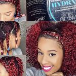 Braid-Out on Natural Fine Hair/Braid Headband Tutorial