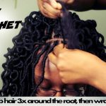 Curly Crochet Faux locs | Freetress Soft Faux Loc Curly Lite 12in | 4 packs of hair used [Vide]