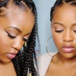 Easy Triangle Part Box Braids (Rubberband Method) [Video]