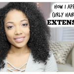 HOW I PUT IN MY CURLY HAIR CLIP IN EXTENSIONS [Video]