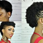 How To Braided Mohawk Tutorial On Short Natural Hair [Video]