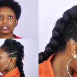 How To Faux Braided Mohawk On Short Natural Hair [Video]