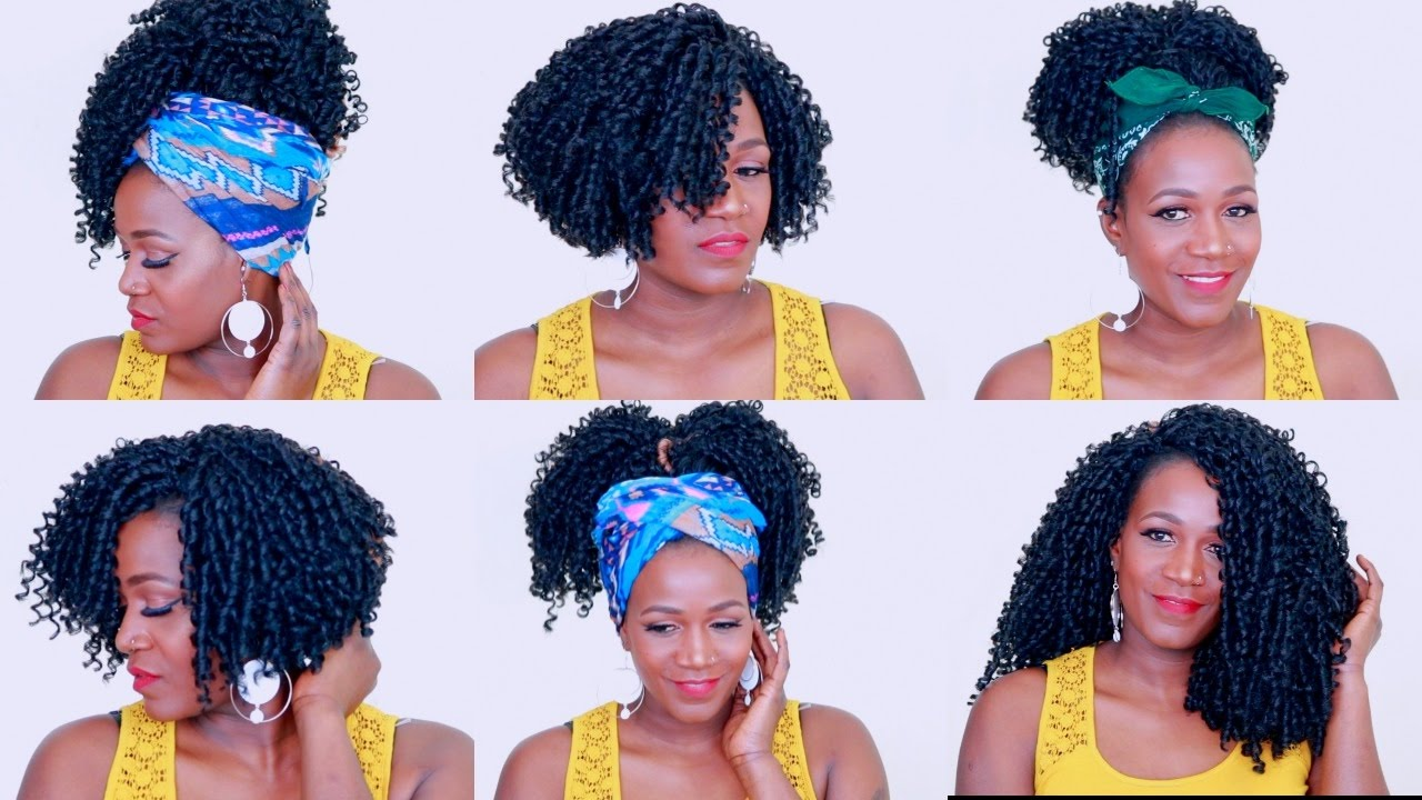 How To Style Soft Dread Crochet Braids Video Black Hair Information