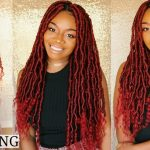 New Technique For Goddess Locs! No Wrapping! Lightweight | Easy Individual Crochet [Video]