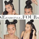 One Hairstyle FOUR Different Ways! | Talk Through Tutorial