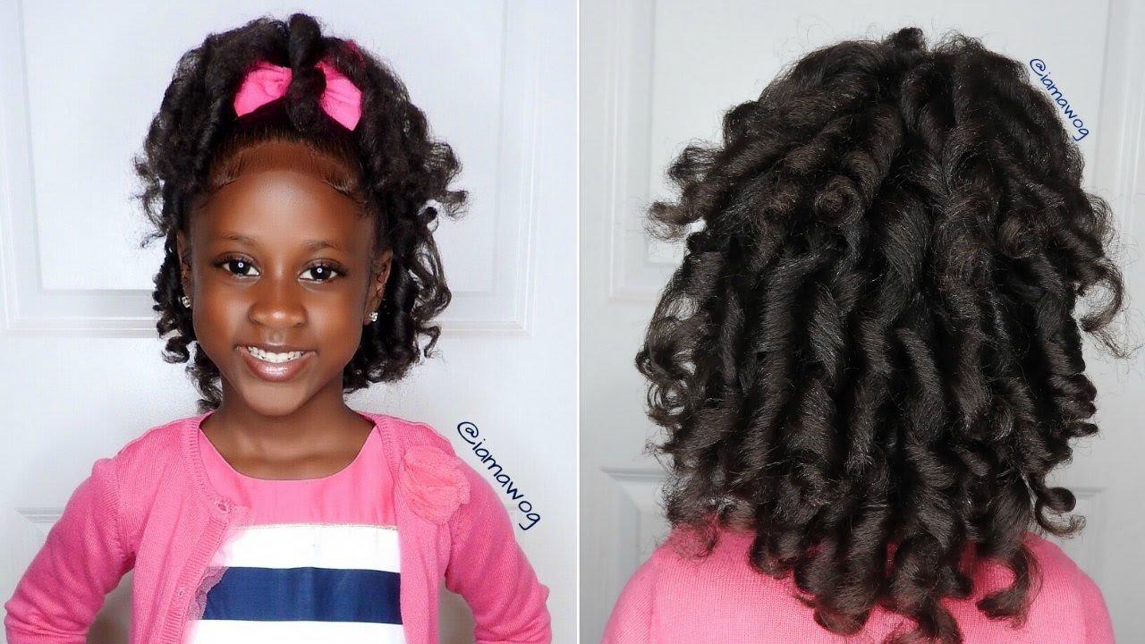 Overnight Heatless Curls Ft. Aunt Jackie's Girls