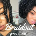 The Perfect Braidout for Type 4 Natural Hair [Video]