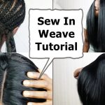 Watch me Do Full Sew In WEAVE No Leave Out NO GLUE Tutorial BEGINNERS FRIENDLY [Video]