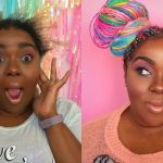 Watch Me Transform | Rainbow Box Braids Installation [Video]