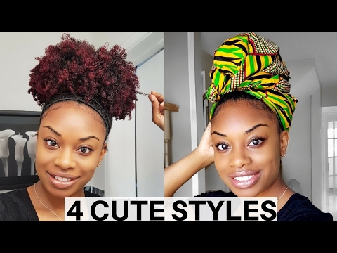 Quick Easy Hairstyles For Short Long Natural Hair