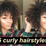 5 Lazy Hairstyles for CURLY HAIR! | Everyday + Quick and Easy [Video]