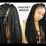 NO CORNROWS CROCHET BRAIDS ONLY (1 HOUR ) TUTORIAL [Video]