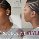 Easy Flat Twist Protective Style || Natural Hair [Video]