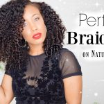 Perfect Braid Out on Natural Hair (Great for Transitioning Hair) [Video]