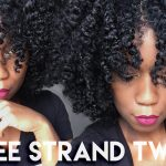How To 3 Strand Twist Out | DETAILED Clear Instructions [Video]