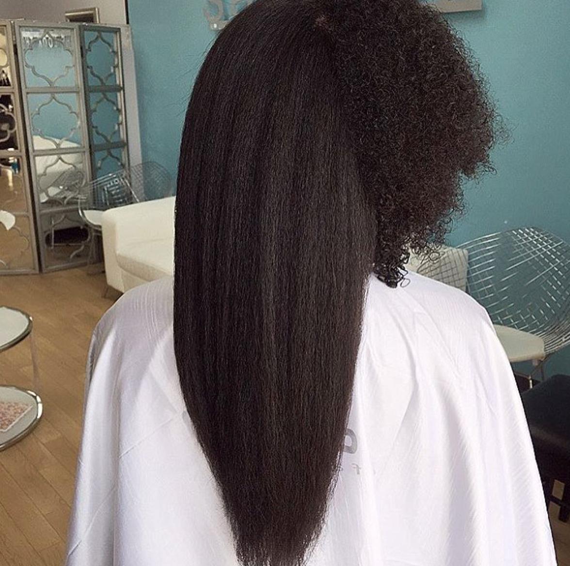 When Shrinkage Is Real Via Salonpk Black Hair Information