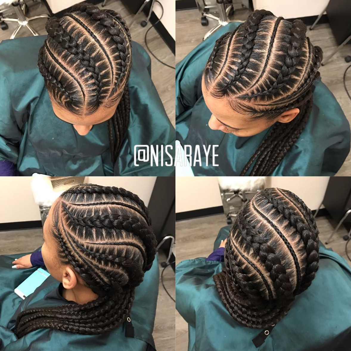 Dope Braids By Nisaraye Black Hair Information