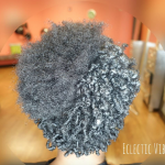 The power of curl defining by @eclectic_vibez