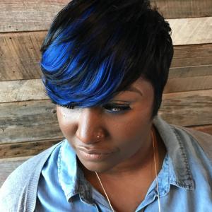 Beautiful blue via @t.techniques