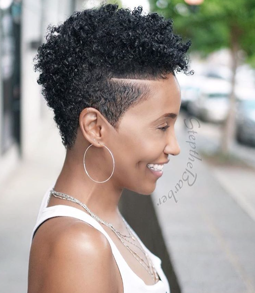 Dope tapered fro by @stepthebarber - Black Hair Information