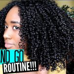 BEST Wash & Go Routine!! Definition and Shine! [Video]