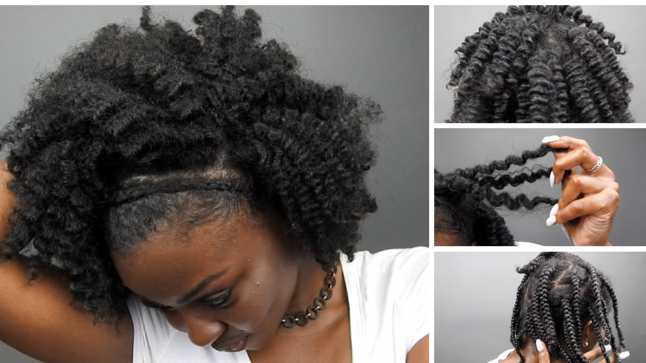 Braid Out Thick Type 4 Hair Video Black Hair Information