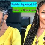 "Braids & Beads Updo with ""My Expert 24"" RASTAFRI Kanekalon hair [Video]"