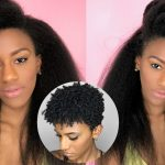 EASIEST Way To Blend Short Natural Hair With Clip Ins! BETTER LENGTH [Video]