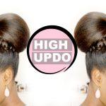 High Updo Hair Tutorial